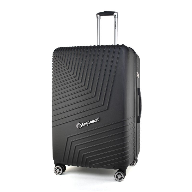 【外交官】Diplomat 时尚休闲商务拉杆箱 黑色 28英寸 DS-13025
