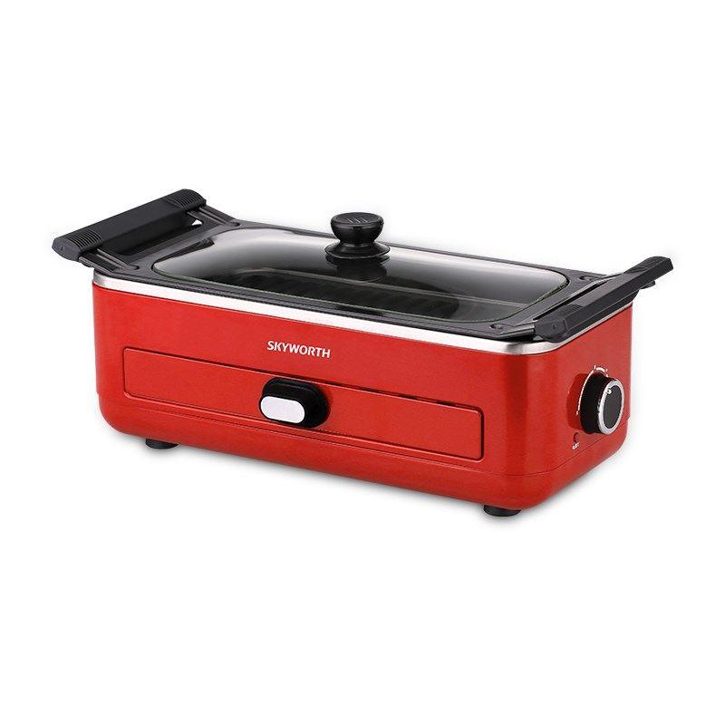 【创维】无烟烧烤炉家用聚餐多用烤盘 K24