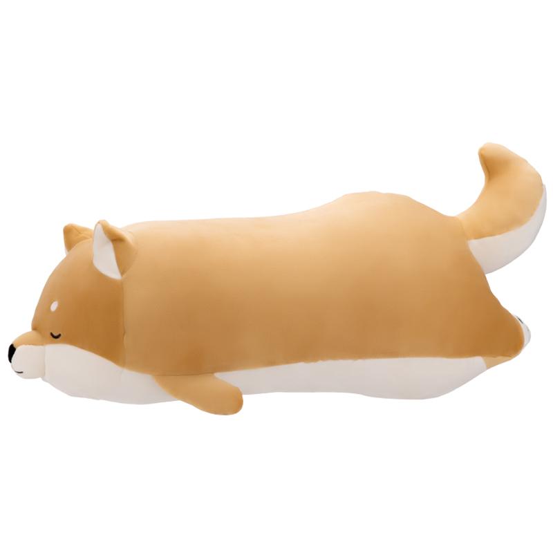 【名创优品】MINISO柴犬系列-趴姿软萌毛绒公仔(黄色)