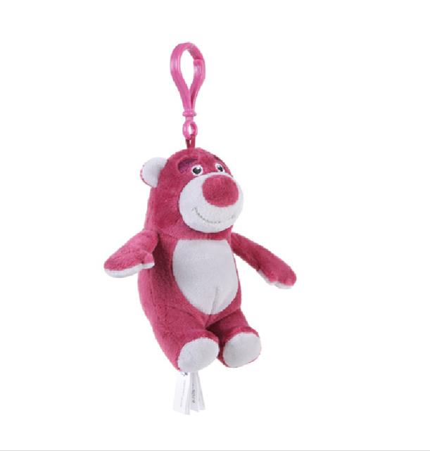 【名创优品】miniso玩具总动员-草莓熊挂件锁匙挂件包包挂件10132