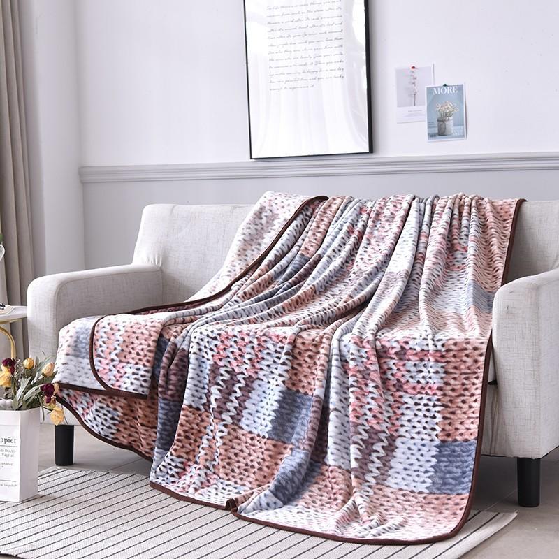 【金丝莉】创意绒毯 柔软舒适 强效抗寒 200×230cm  JT-1106
