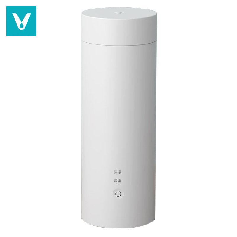 【云米】电热水杯便携式烧水壶真空保温杯 400ML YM-K0401