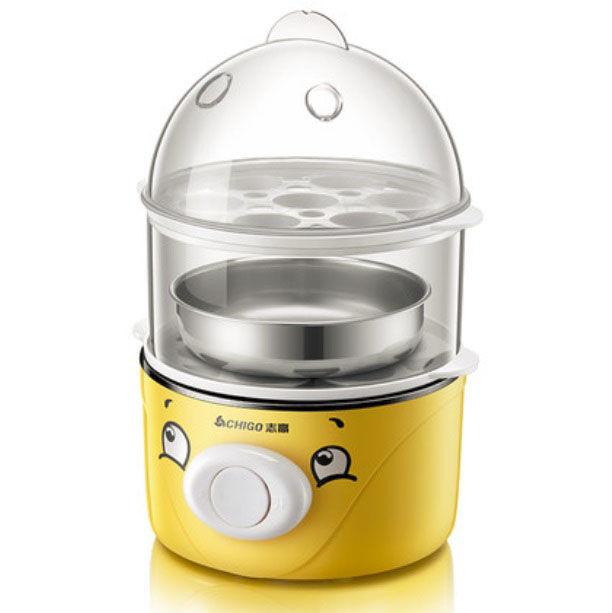 【志高】煮蛋机蒸蛋煎蛋器家用小型2-6人自动断电营养早餐机鸡蛋神器  ZDQ202