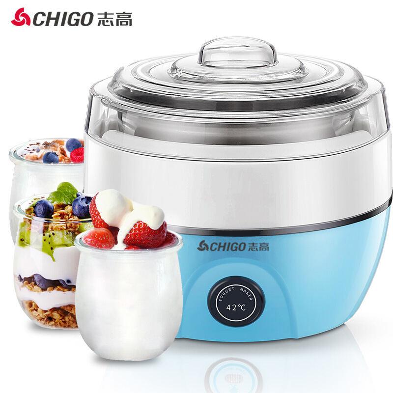 【志高】(CHIGO)酸奶机家用全自动恒温发酵304不锈钢内胆 ZG-L102