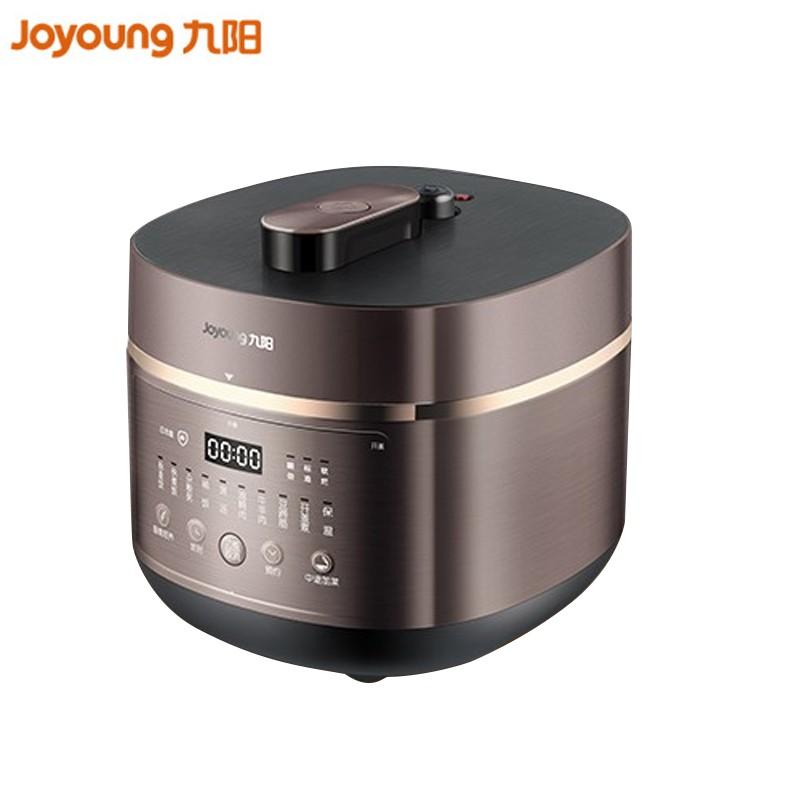 【九阳】电压力锅5L家用压力煲开盖煮可中途加菜 预约定时电高压锅  Y-50C29