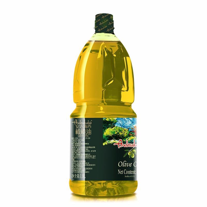 【中粮】中粮安达露西橄榄油 1.8L/5L 纯正橄榄油食用油