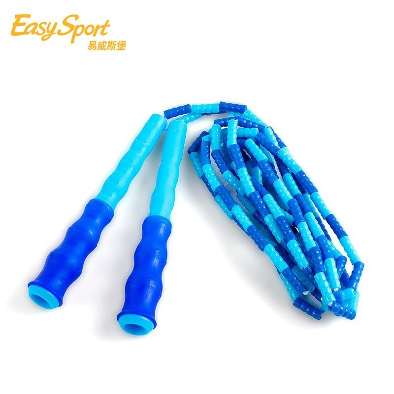 【易威斯堡】儿童竹节软珠跳绳 中小学生训练专用跳绳  ES-CT007
