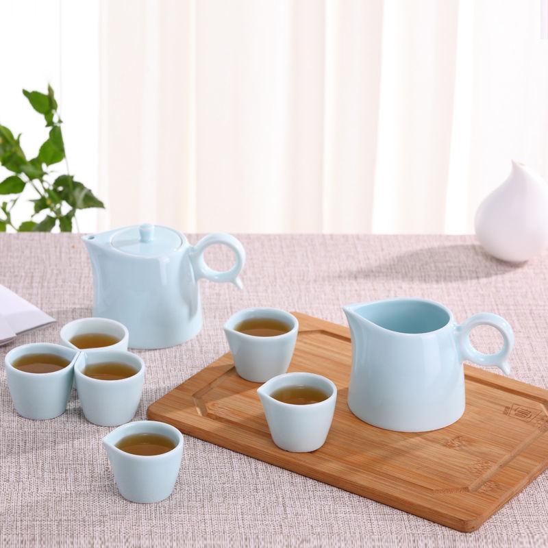 【原初格物】凤凰创意礼品茶具套装 陶瓷茶具茶道茶壶功夫茶具礼盒套装  TSK1013