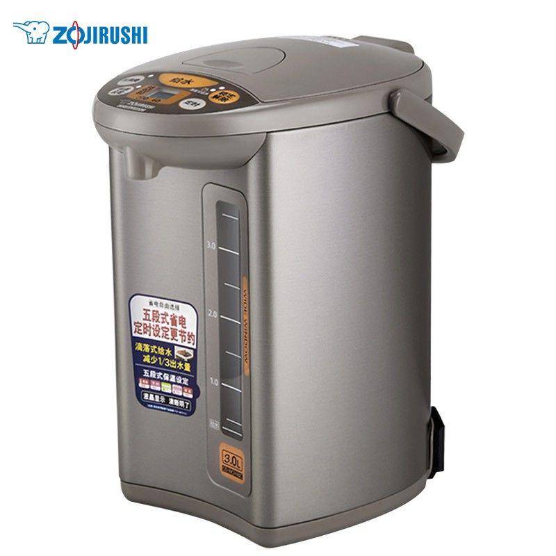 【象印】ZO JIRUSHI 电热水壶 五段控温定时保温电水壶瓶恒温电烧水壶 CD-WCH30C/CD-WCH40C/CD-WCH50C