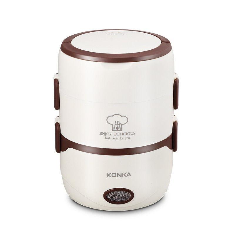【康佳】(KONKA)电热饭盒 雅滋煲 保温饭盒加热饭盒电热饭盒热饭神器日式便当盒 KGZZ-2178P