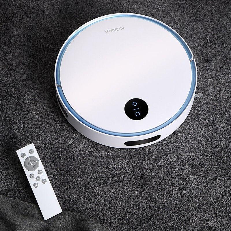 【康佳】KONKA家用吸尘器扫地机洁净家 家用全自动大吸力智能拖地机器人 KGXC-116