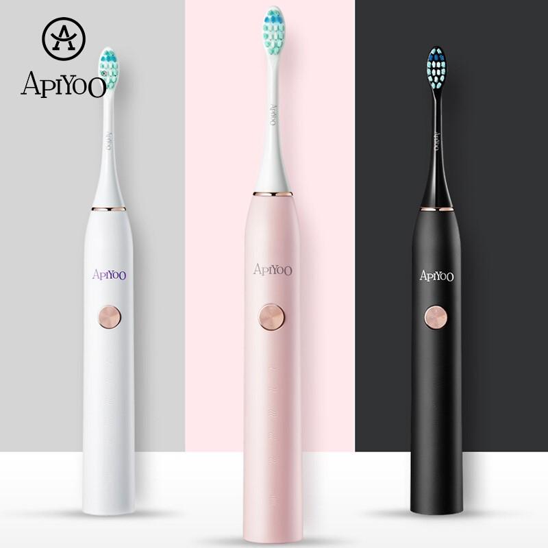 【艾优】电动牙刷成人充电式声波震动牙刷情侣款男女通用  P7