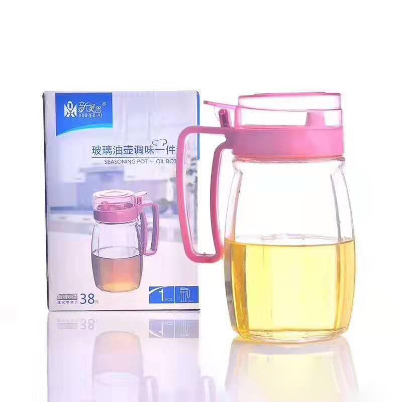 油壶 调味罐盐罐糖罐调味盒玻璃调味罐套装