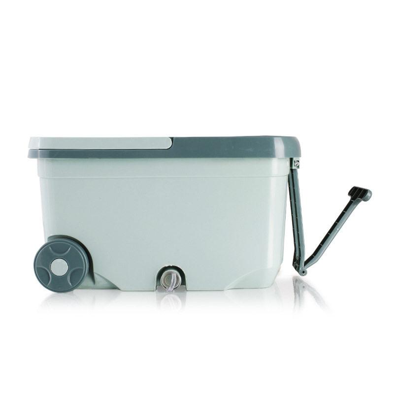 旋转拖把桶神拖双驱动免手洗家用拖布桶XR-042