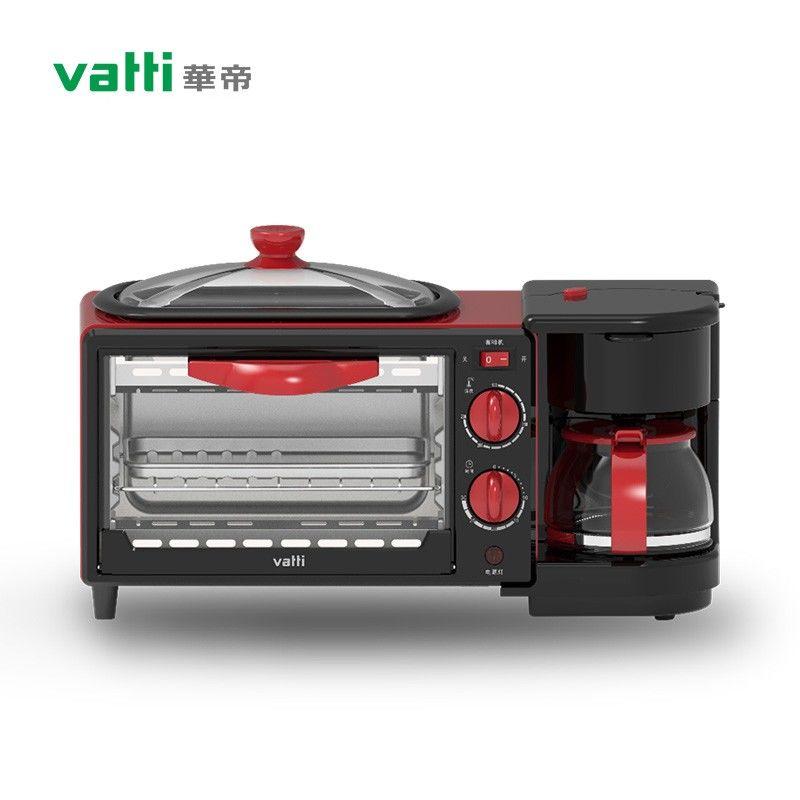 【华帝】 (VATTI) 多功能早餐机 家用一烤一煎一煮早餐机 ZC-YC4L