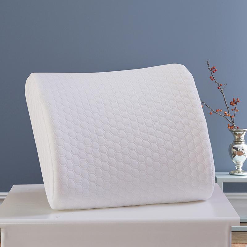 【博洋】记忆棉腰靠-藏青色白色 家用办公室轻柔靠枕  BYKD601-1 BYKD601-2