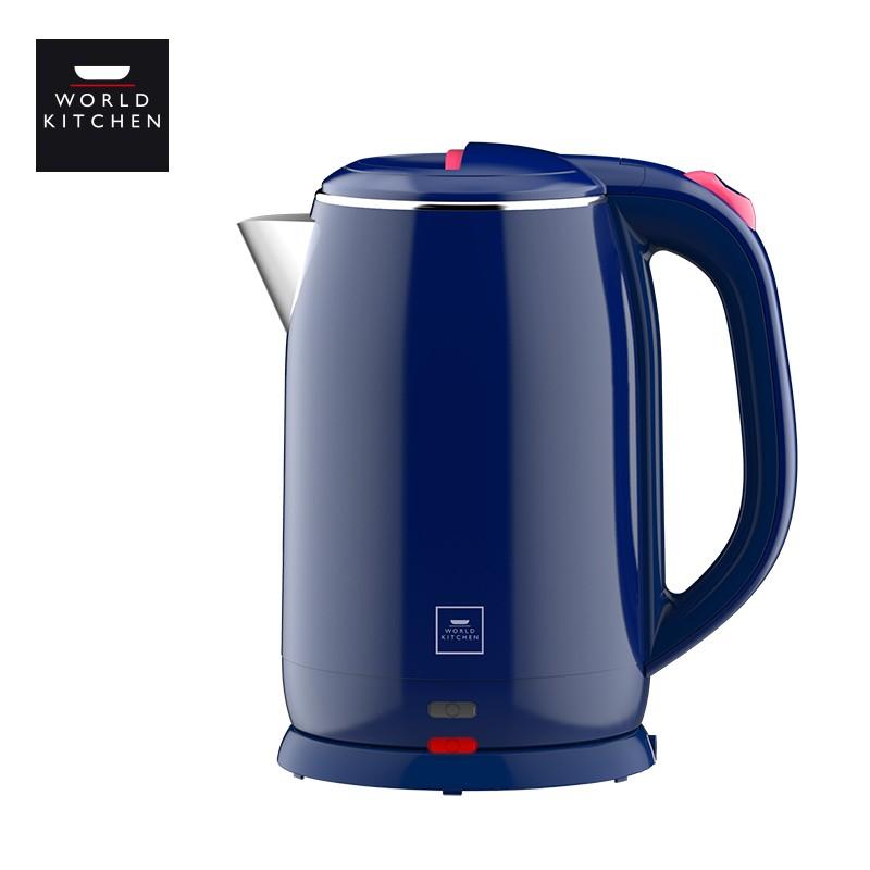 【康宁】电热水壶大容量双层不锈钢电热水壶WK-ELTCKT2L/KZ
