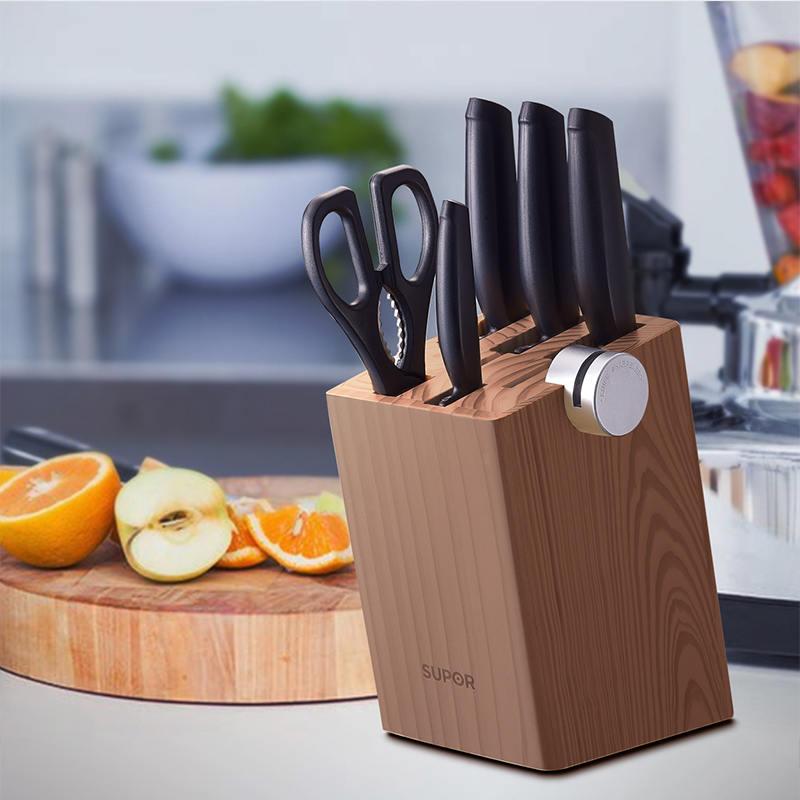 【苏泊尔】刀具套装不锈钢七件套厨师刀组合尖峰系列 TK1520Q