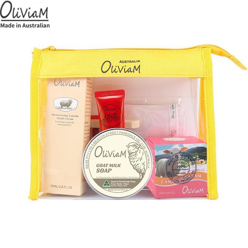 【澳莉维亚】Oliviam 澳洲绵羊油滋养修护旅行套装
