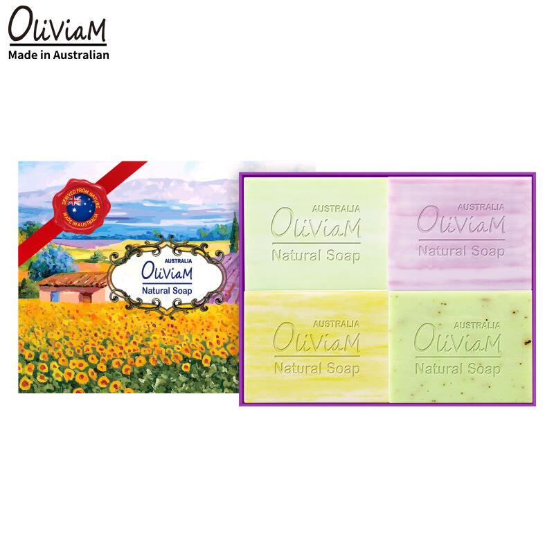 【澳莉维亚】OLIVIAM澳洲原装进口植物精油手工皂