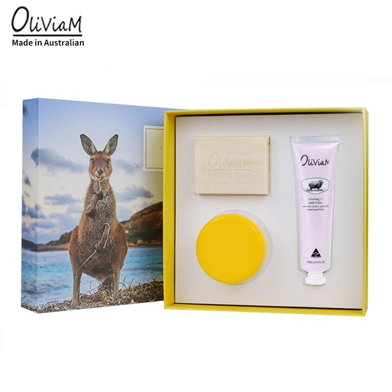 【澳莉维亚】OLIVIAM 澳洲原装进口清爽保湿三件套