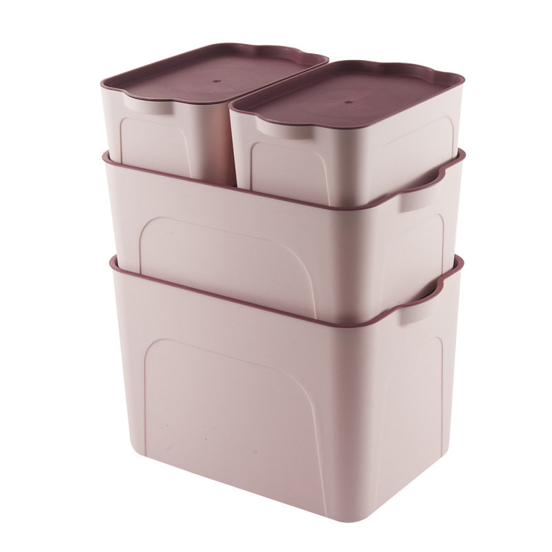 大号储物箱儿童玩具衣服收纳盒四件套塑料整理箱床底收纳箱