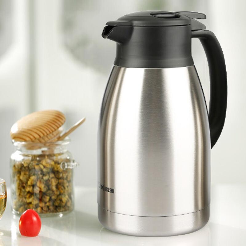 【象印】保温壶不锈钢真空保温瓶大容量家用热水瓶暖壶SH-HA15C/19C