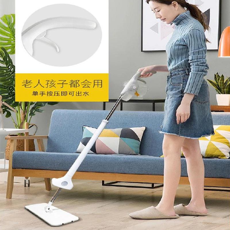 诺朗 欧尚喷水拖把懒人免手洗墩布家用清洁好帮手PS-308