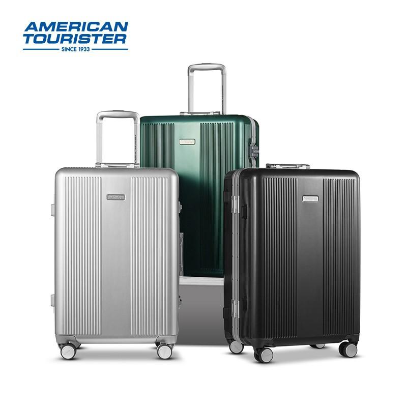 【美旅】拉杆箱旅行箱铝框行李箱万向轮飞机轮密码箱TJ4