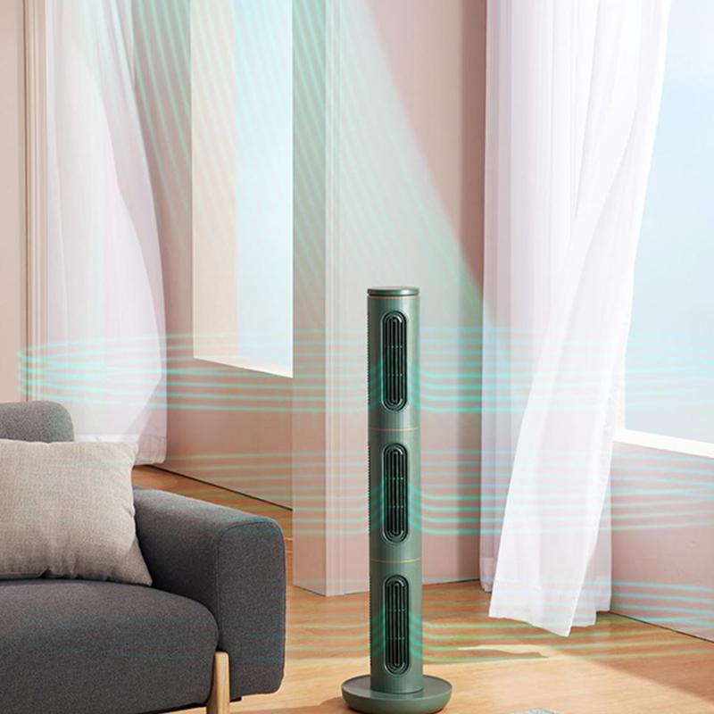 【爱登】空气魔方组合塔扇电风扇静音智能无扇叶立式落地扇E360A