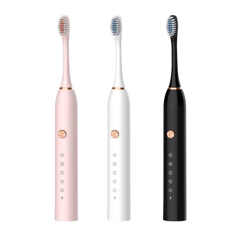 电动牙刷成人充电五档智能声波震动软毛SC501/SC502