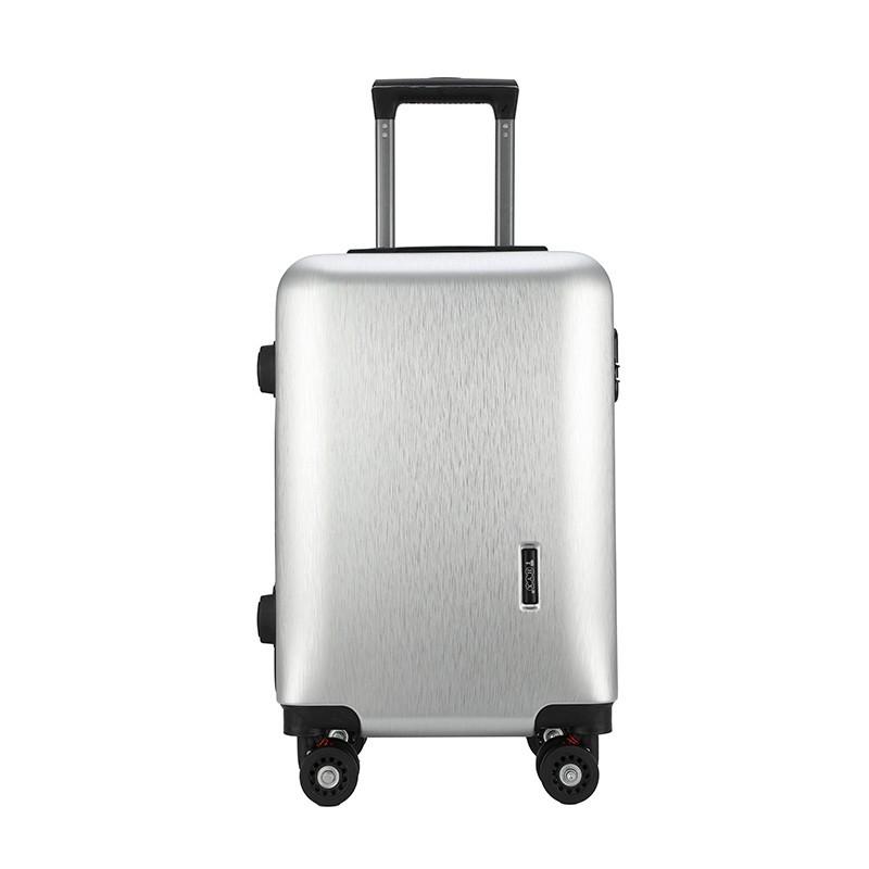【恒源祥】永恒拉杆箱 银色 24寸 HYX8041