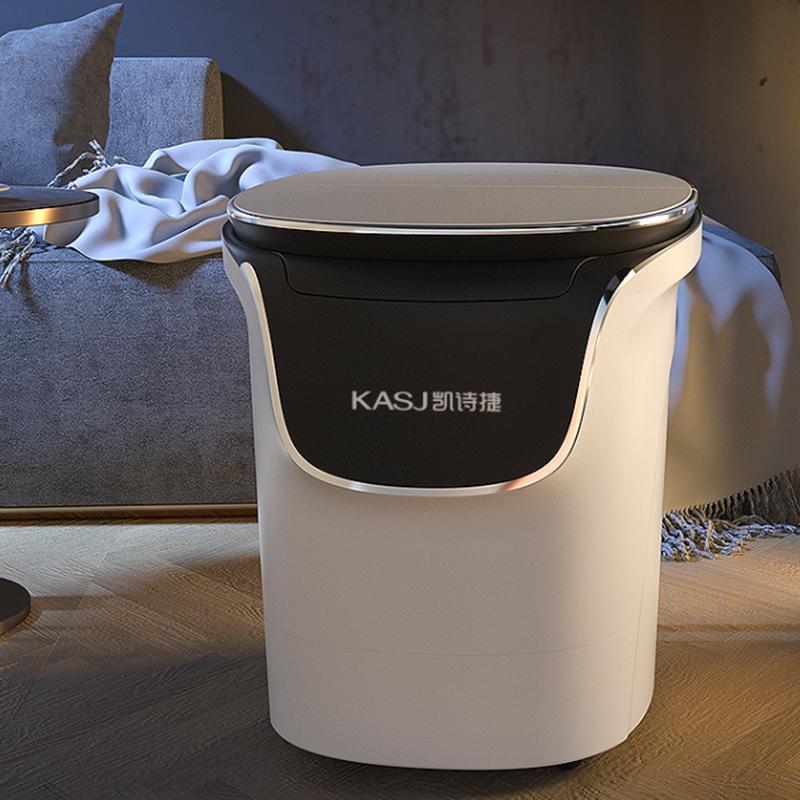【凯诗捷】(KASJ)足浴盆全自动洗脚盆泡脚盆加热按摩泡脚桶电动足浴桶1619