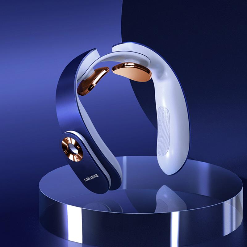 【凯诗捷】(KASJ)颈椎按摩器热敷脉冲颈部按摩仪护颈仪A1