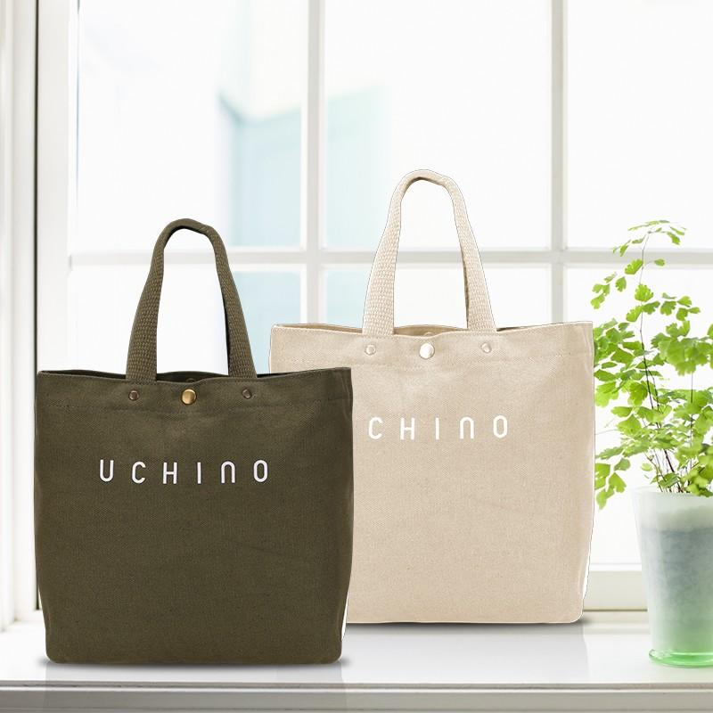 【内野】原生态帆布袋简约大容量单肩包UC-J029