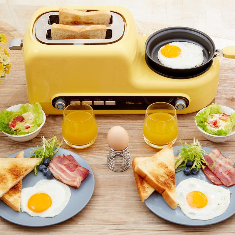 【小熊】烤面包机早餐机多士炉三明治全自动家用2片吐司机DSL-A02Z1