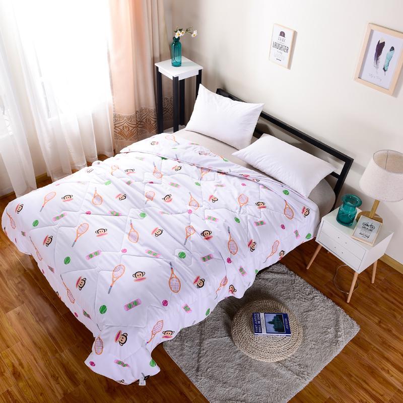 【大嘴猴】空调被夏被家纺床上用品舒柔磨毛被芯运动达人PF0290BZ