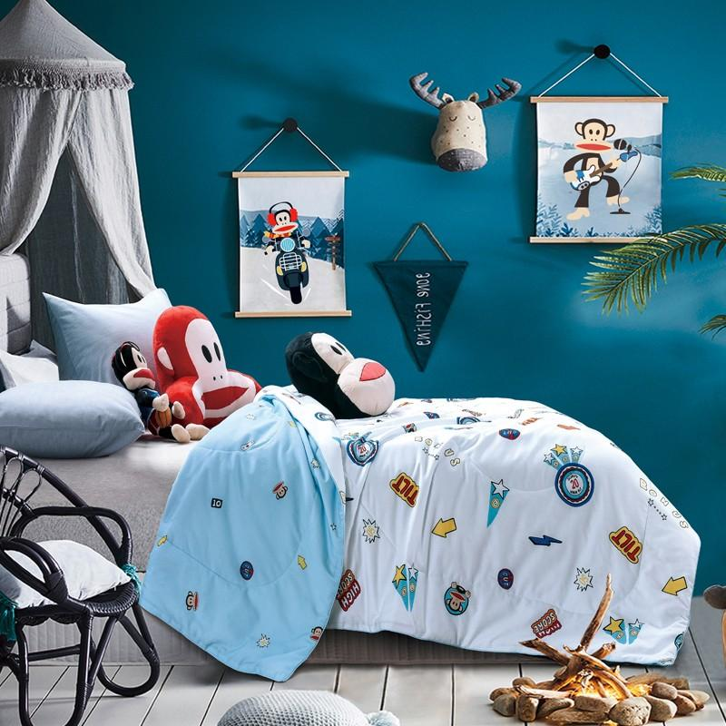 【大嘴猴】儿童被子家纺床上用品清新夏凉被芯空调被PF0931BZ