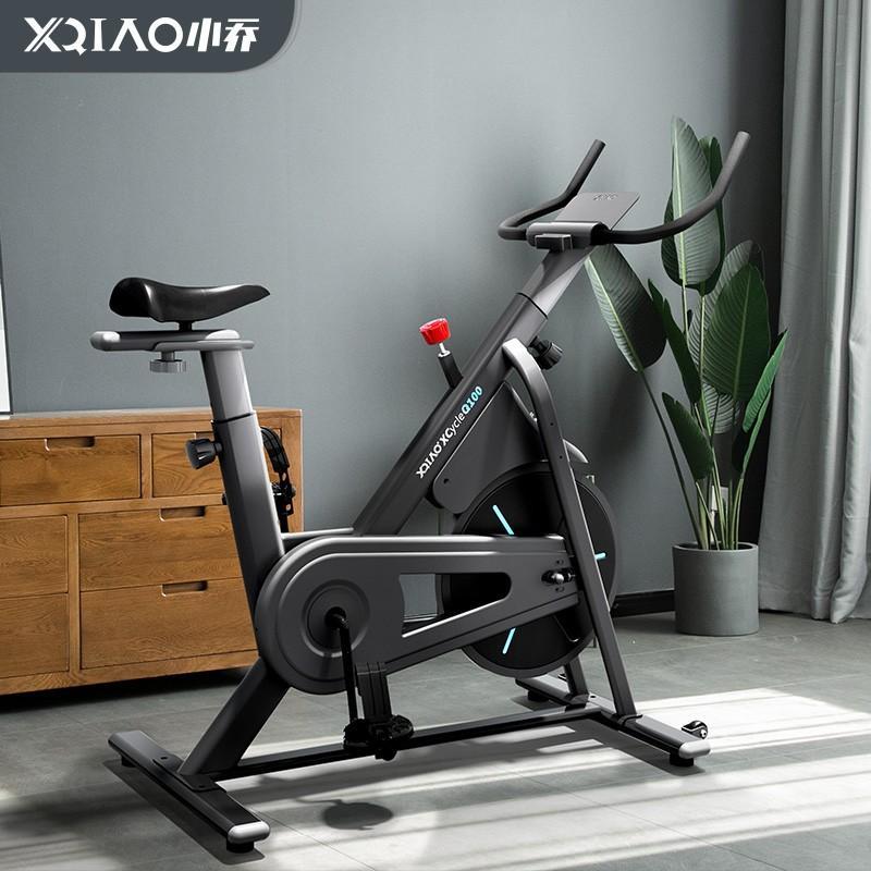 【小乔】智能动感单车加强版家用磁控健身车室内自行车Q100加强版