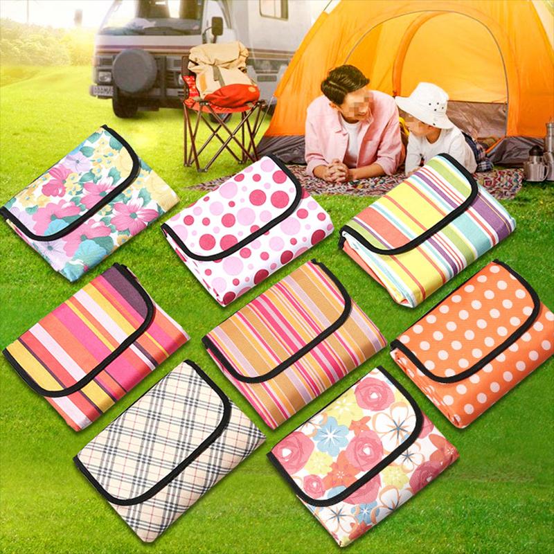 野餐垫600D牛津布户外野餐布防水野餐毯防潮垫春游沙滩垫