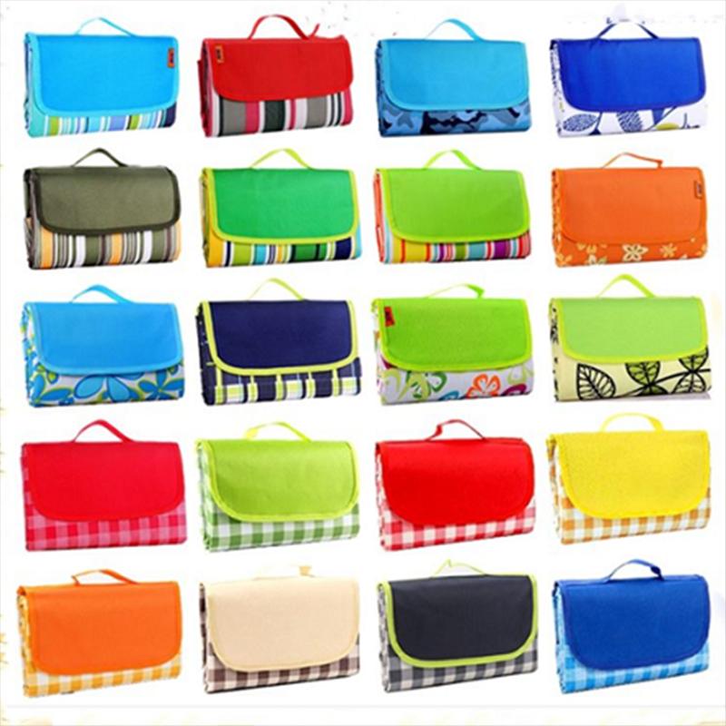 彩色织带野餐垫户外牛津布野餐垫