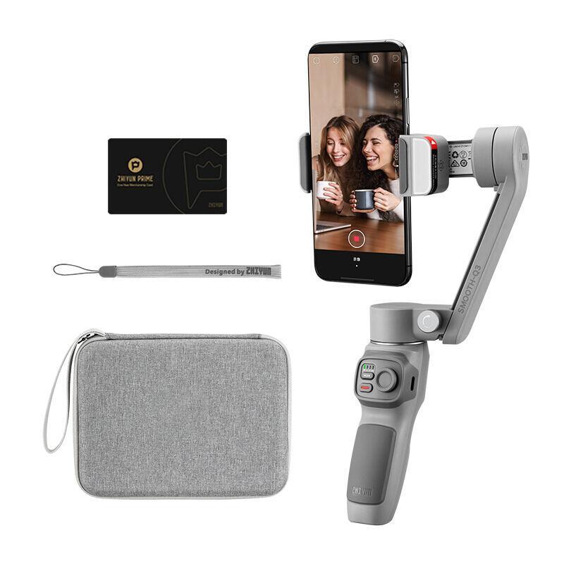 【智云】SMOOTH Q3三轴手机稳定器vlog摄影神器手持智能防抖云台标配/套装SM113