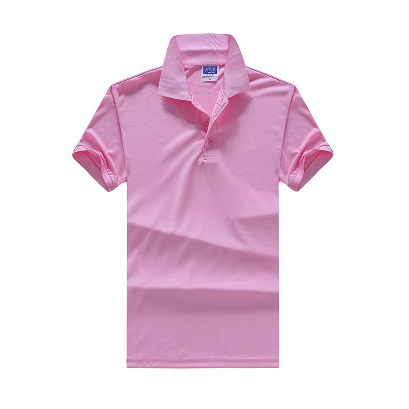 夏季翻领polo文化衫印字短袖t恤广告衫工作服HM-0103/HM-0104