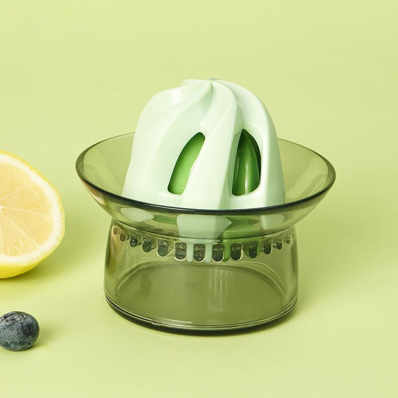 【幸福妈咪】迷你家用手动榨汁机便携式榨汁杯水果机榨果汁杯C811-B