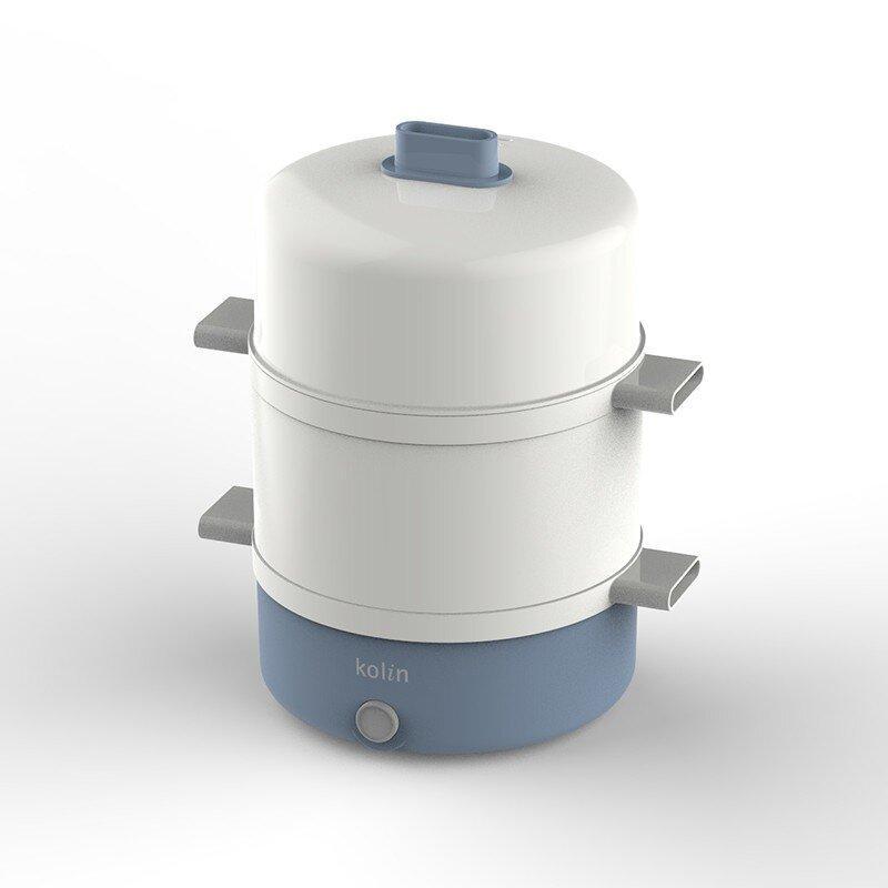 【歌林】白玉兰迷你蒸笼蒸蛋煮蛋器自动断电L-GL7350J