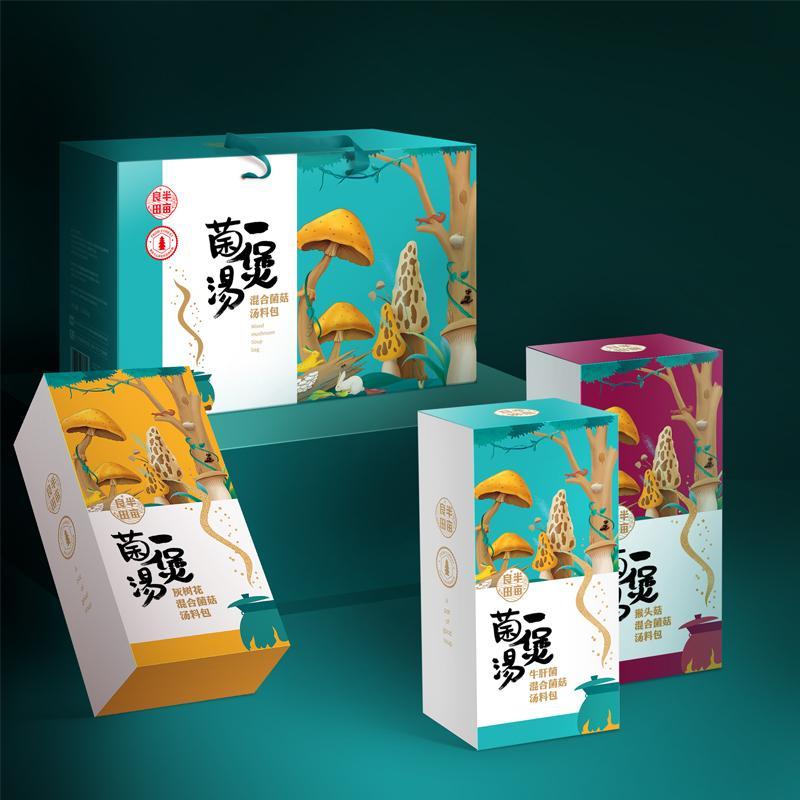 【半亩良田】一煲菌汤混合菌菇汤料包野生菌菇系列