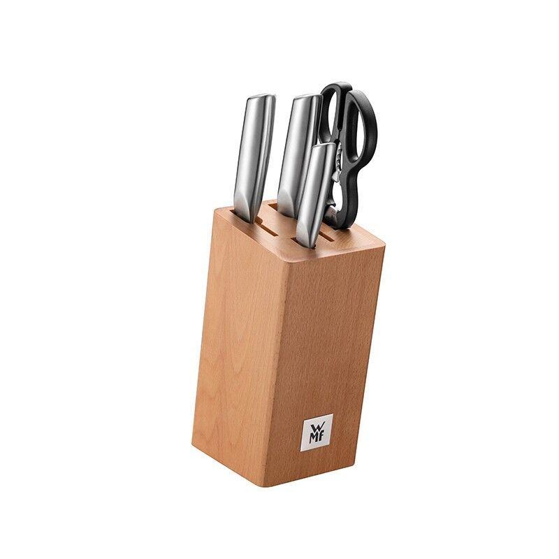 【WMF】Classic Plus系列刀具5件套厨具不锈钢厨房切菜刀剪刀蔬果料理刀1891379990