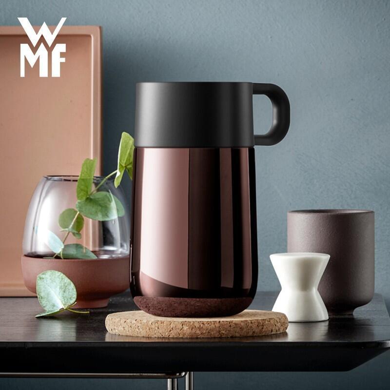 【WMF】Impulse随行保温杯双层不锈钢真空保温杯便携小巧男女士泡茶大容量水杯0690636601