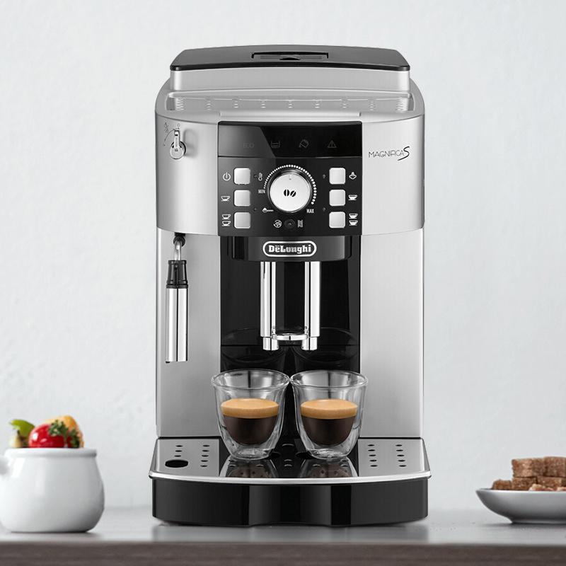【德龙】全自动咖啡机 意式现磨咖啡机  家用 ECAM21.117SB