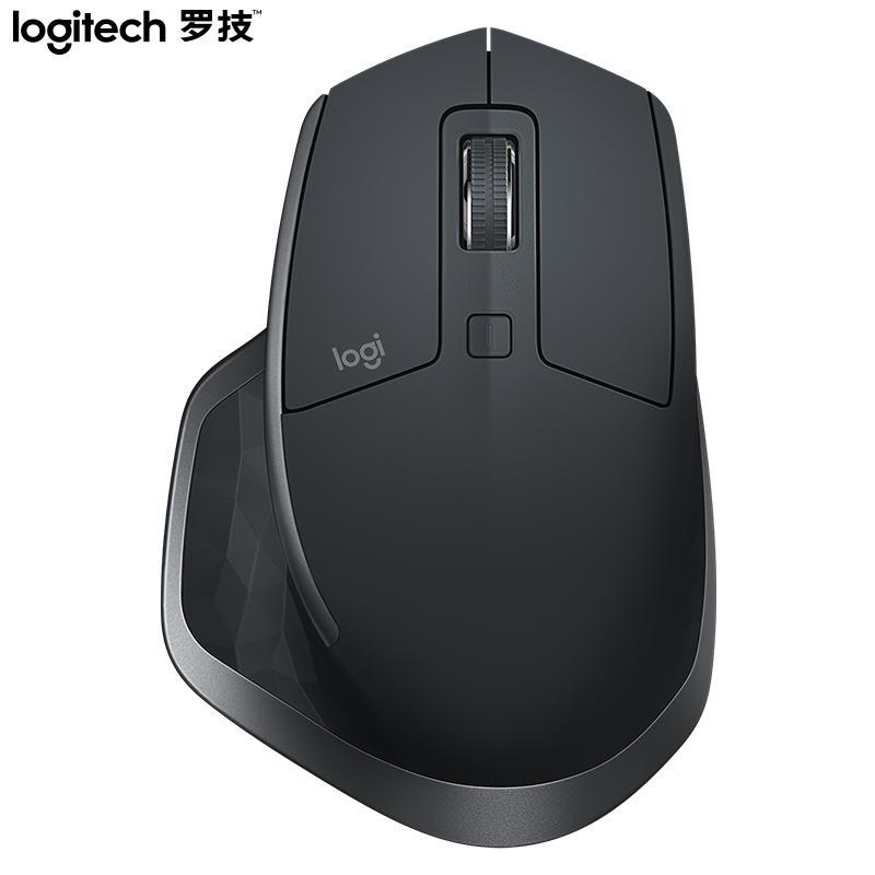 【罗技】鼠标无线蓝牙鼠标办公鼠标右手鼠标无线2.4G接收器 MX Master 2S